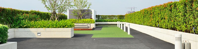 Commercial Artificial Grass Hotels