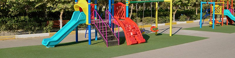 Commercial Artificial Grass Playgrounds
